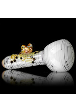 Witch DR Glass Pipe Dry Flame Polished Classic Birch Frog Pipe (E) by Kevin Engelmann