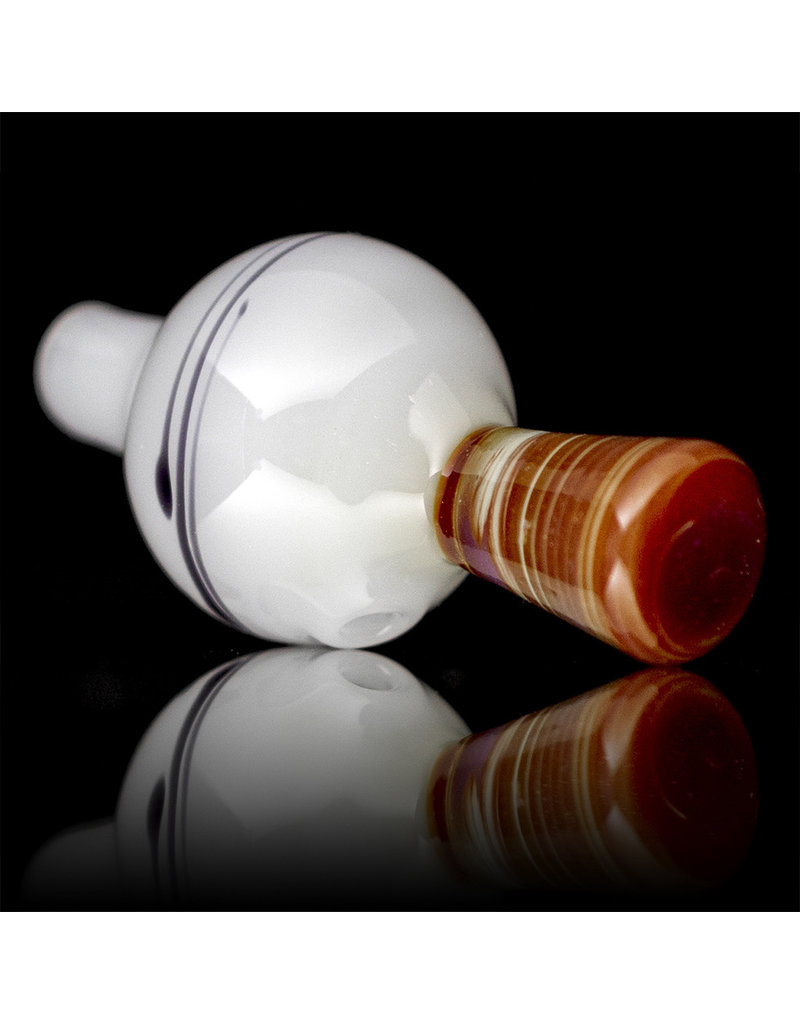Witch DR 25mm Bubble Carb Cap Flame Polished Classic Birch (G) by Kevin Engelmann