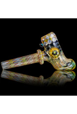 """Evan Cals Glass Pipe Dry 6"""" Fume Hammer for use with dry herbs by Evan Cals (A)"""