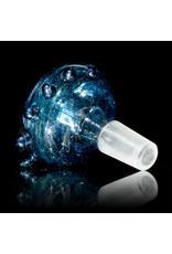 David Baker 14mm Glass Bong Bowl Slide Inside Out Frit (J) by David Baker