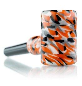 Hollinger SOLD Hollinger Small Orange / Gray Cob Pipe