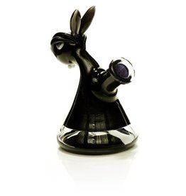 Vibe Glass SOLD Vibe Black Bunny Jammer Dab Rig