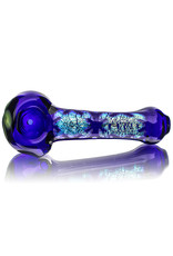 Lab Rat Glass Glass Spoon Dry Pipe Dichro Puzzle Green Pinwheel by Lab Rat Glass