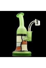Slinger SOLD Slinger Mondrian Dab Rig w/ Quave Club Banger