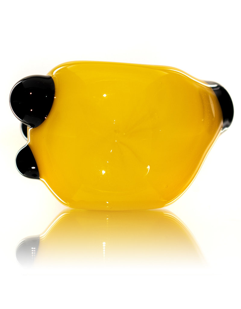 Soursilicate Glass Pipe DRY Hand Pulled CANARY Northstar Glass by Soursilicate