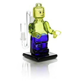 SOLD E.F. Norris Green Full Size Lego Body Dab Rig