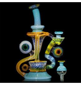 Steve Sizelove SOLD Fumetech & Bubbletrap Klein Recycler: Agua Azul (Cap Included) by Steve Sizelove 26 loveday