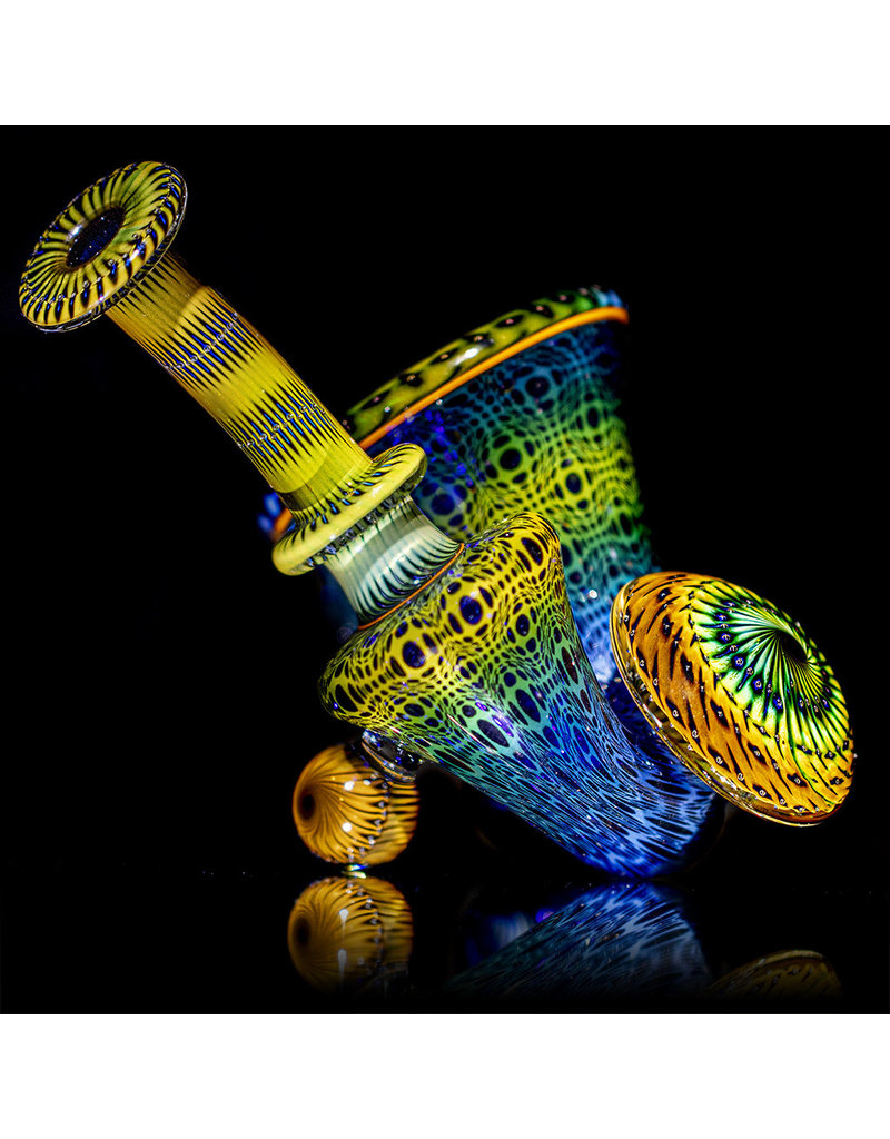Steve Sizelove Glass Pipe Dry Loveday Fumetech Bubble Trap Sherlock by Steve Sizelove 25