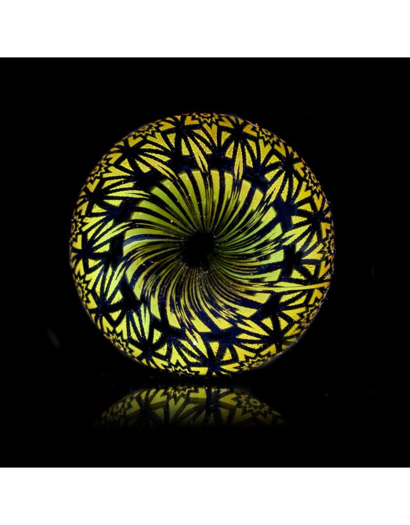 Steve Sizelove Glass Marble Loveday Fumetech Marble 30 by Steve Sizelove