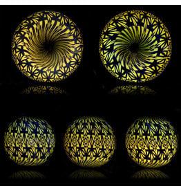 Steve Sizelove SOLD Glass Marble Loveday Fumetech Marble 30 by Steve Sizelove