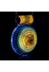 Steve Sizelove Glass Pendant Loveday Fumetech Bubbletrap Pendant 32 by Steve Sizelove