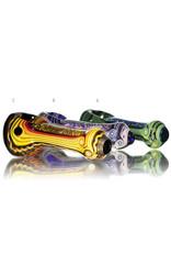 Lab Rat Glass BATCH.409 Glass Spoon Dry Pipe Dichro Dancer by Lab Rat
