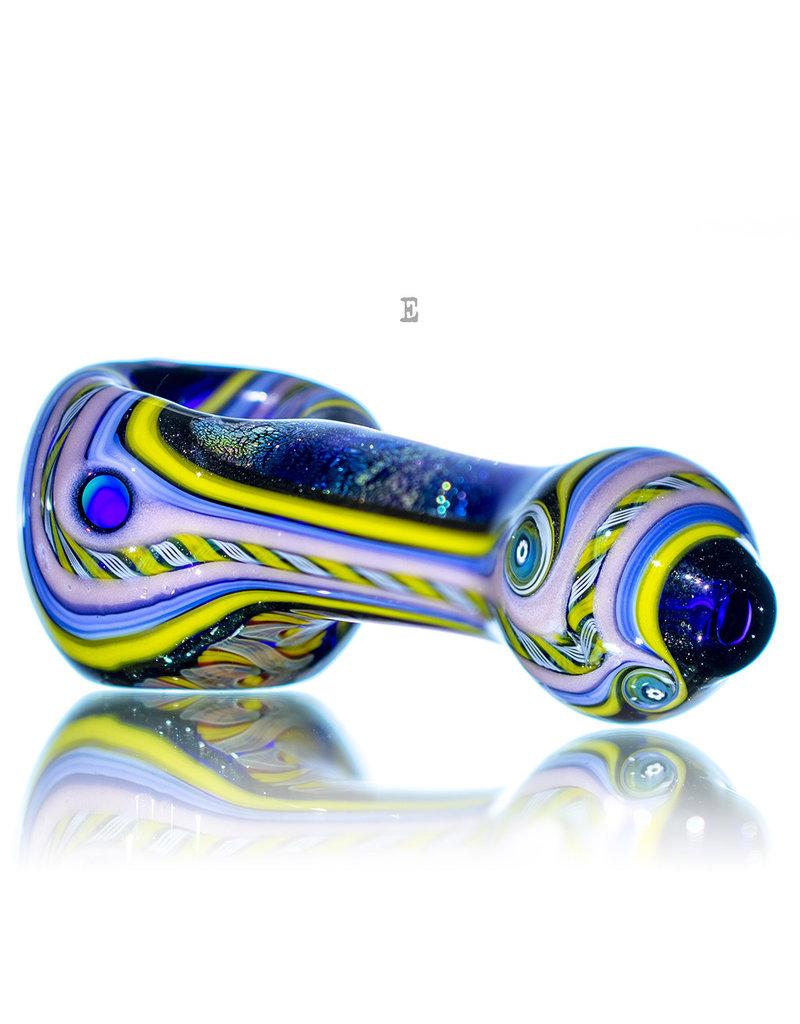 Lab Rat Glass BATCH.420 Glass Spoon Dry Pipe Dichro Dancer by Lab Rat