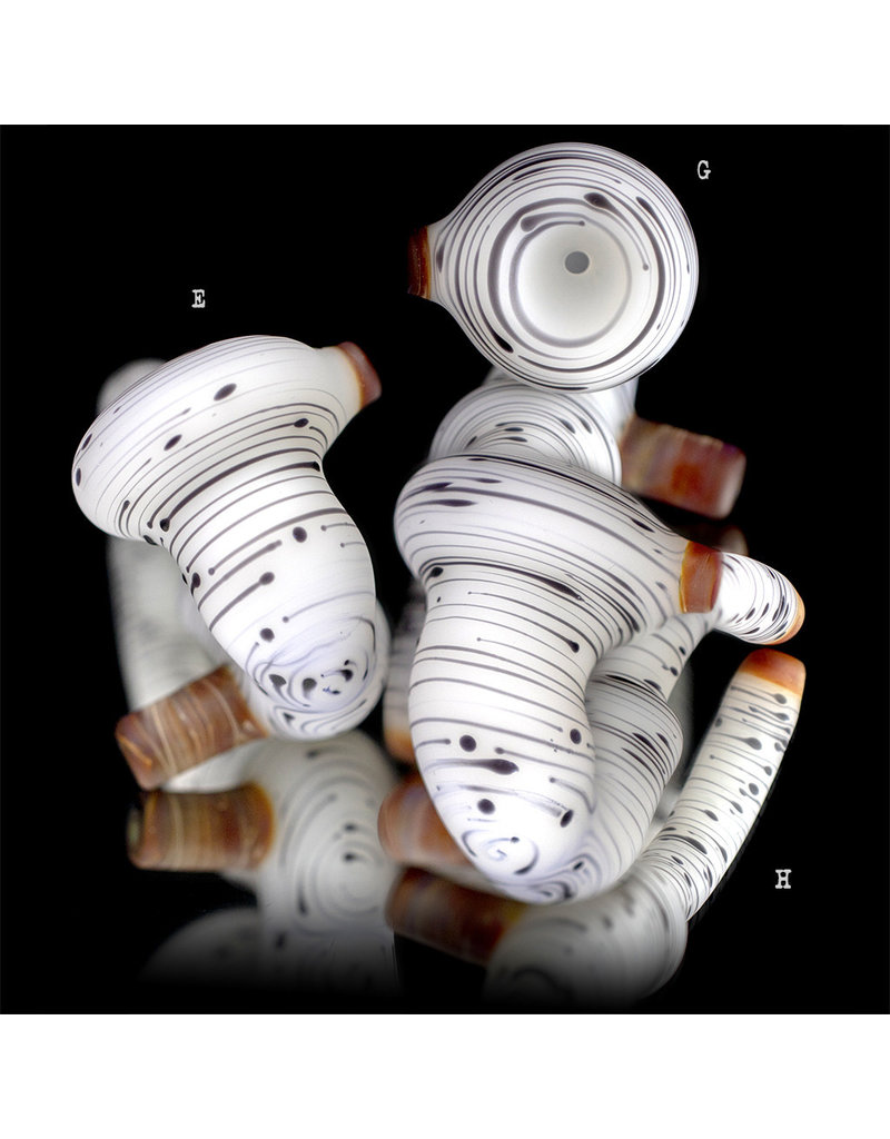 Witch DR Batch.710 Frosted Glass Classic Birch Sherlock Pipe by Engelmann