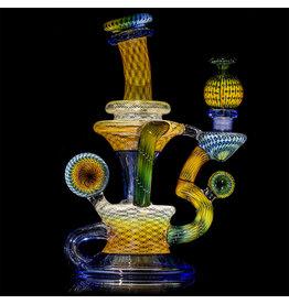 Steve Sizelove Fumetech & Bubbletrap Klein Recycler: Cobalt, Gemini, Jet Black (Cap Included) by Steve Sizelove 21 loveday