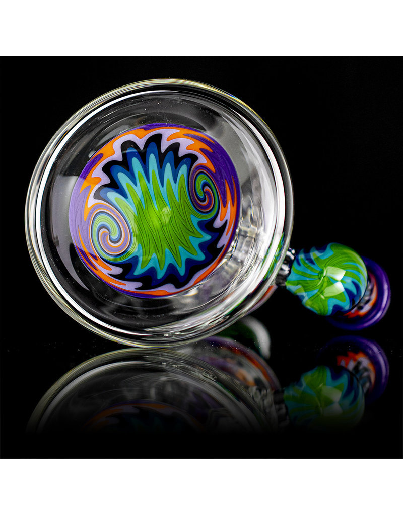Jemmie Bandy 14mm Dab Rig Worked Banger Hanger (D) by Jemmie Bandy