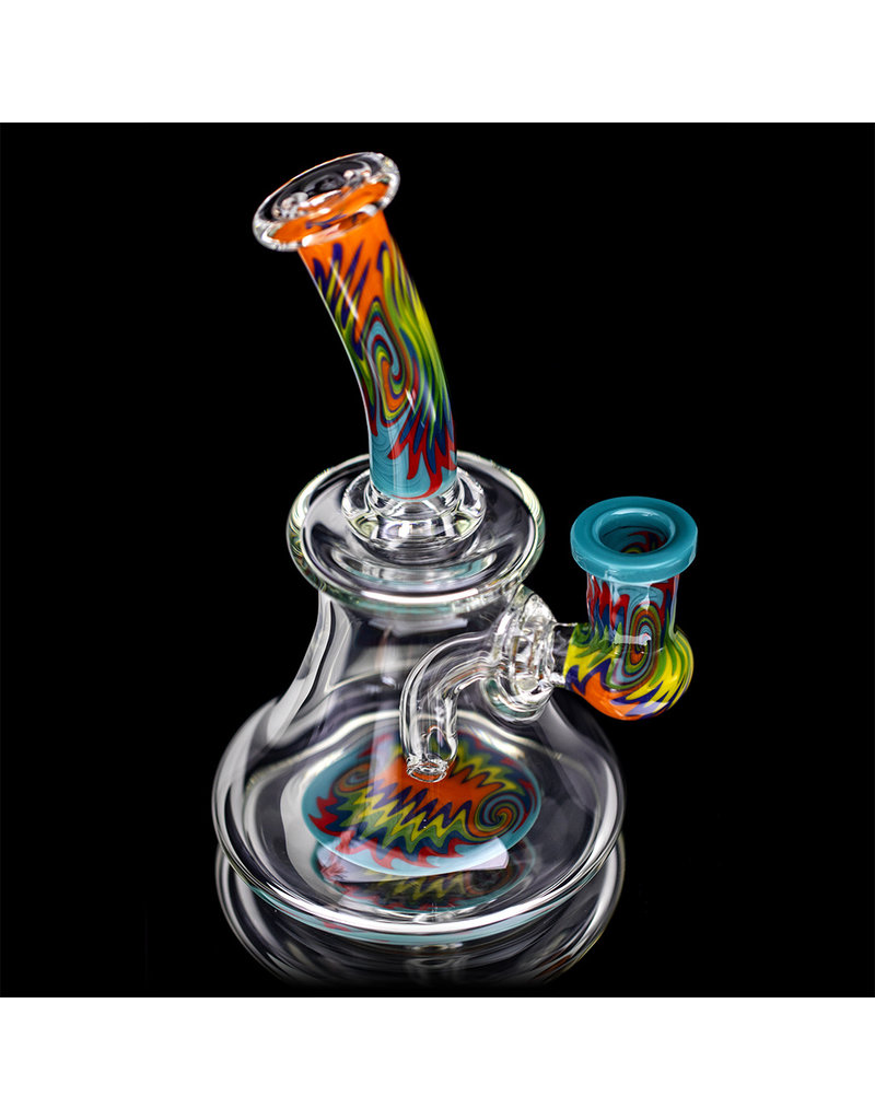 Jemmie Bandy 14mm Dab Rig Worked Banger Hanger (C) by Jemmie Bandy