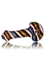 """Lab Rat Glass 4.5"""" Glass Spoon Dry Pipe Dichro Twizzler (G) by Lab Rat"""