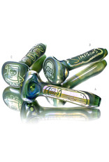 "Joe Palmero BATCH.888 4"" Glass Pipe Dry Image Pipe by Joe Palmero"