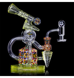 TORO SOLD 10mm Rig Set Double Layer Millie UV Jet by JP Toro