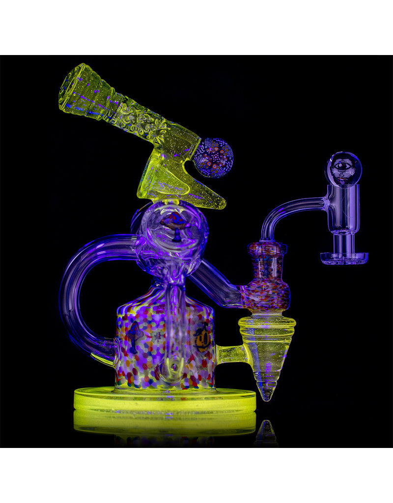 TORO 10mm Rig Set Double Layer Millie UV Jet by JP Toro