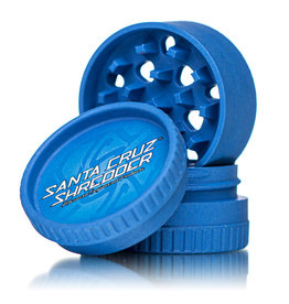 Santa Cruz Shredder BLUE 3 Piece Grinder MADE 100% from HEMP by Santa Cruz Shredder (other colors available)