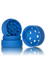 Santa Cruz Shredder BLUE 3 Piece Grinder MADE 100% from HEMP by Santa Cruz Shredder