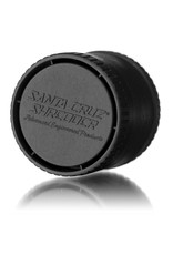 Santa Cruz Shredder BLACK 3 Piece Grinder MADE 100% from HEMP by Santa Cruz Shredder