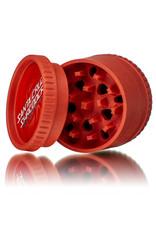 Santa Cruz Shredder RED 3 Piece Grinder MADE 100% from HEMP by Santa Cruz Shredder