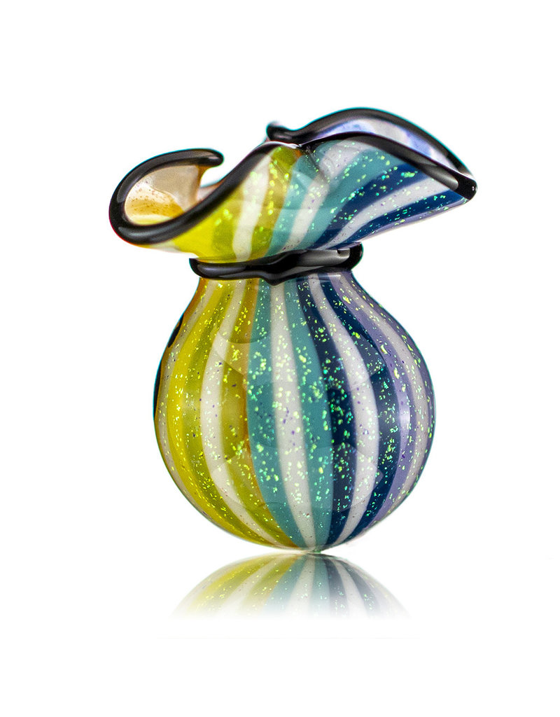 JAG Glass Money Bag Dichro Slurper Cap (C) by JAG