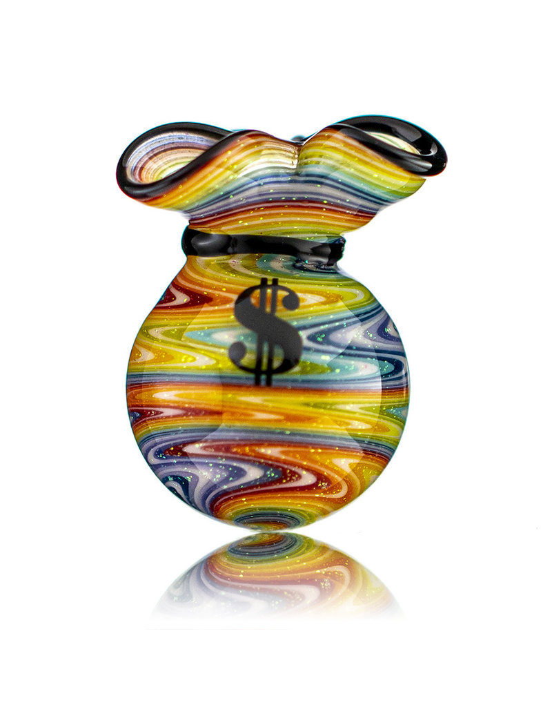 JAG Glass Money Bag Dichro Slurper Cap (E) by JAG