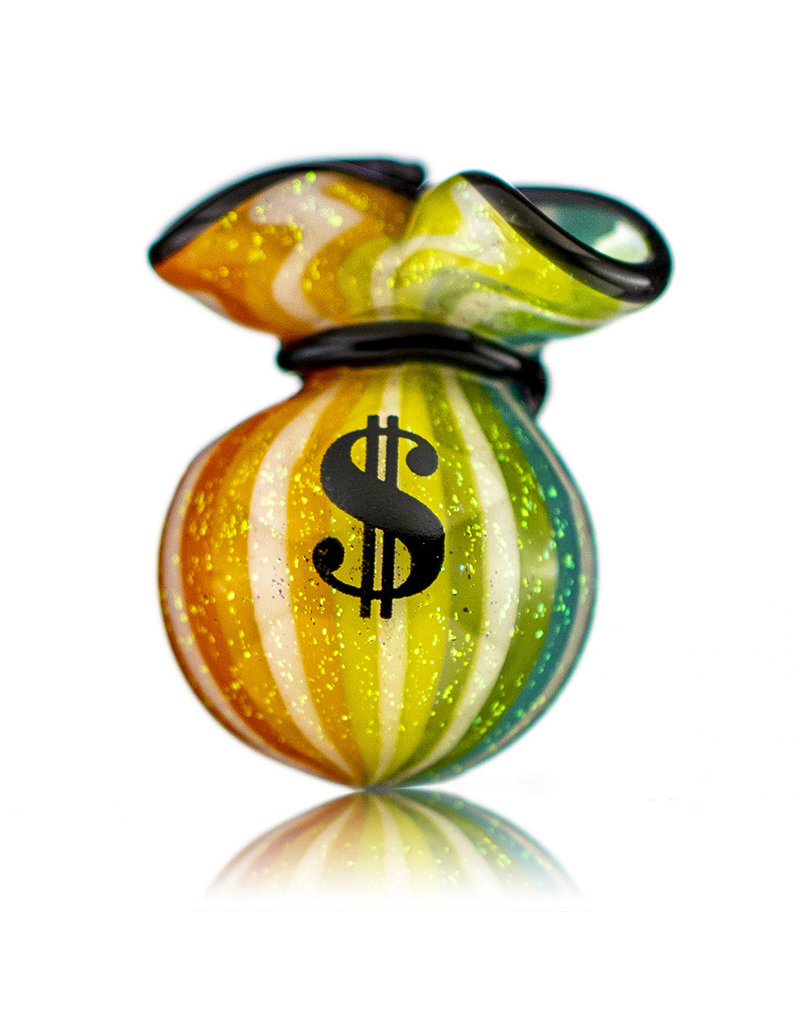 JAG Glass Money Bag Dichro Slurper Cap (G) by JAG