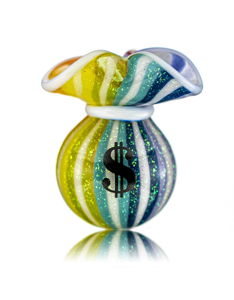 JAG Glass Money Bag Dichro Slurper Cap (H) by JAG