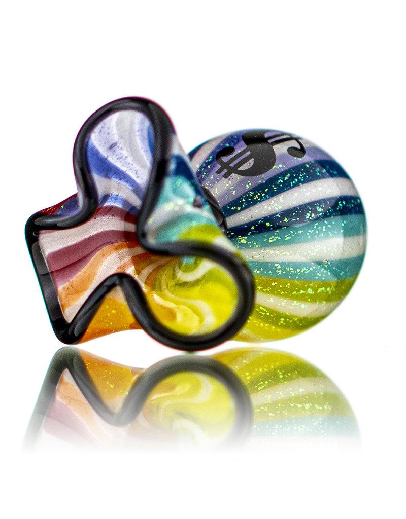JAG Glass Money Bag Dichro SlurperCap (J) by JAG