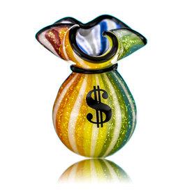 JAG SOLD Glass Money Bag Dichro Slurper Cap (K) by JAG
