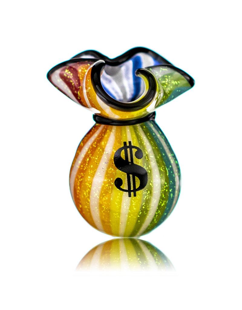 JAG Glass Money Bag Dichro Slurper Cap (K) by JAG