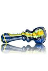 """Soursilicate Glass Pipe 4"""" Fully Worked Line Pipe (H) by Sour Silicate"""