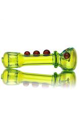 """Geek 5"""" Glass Pipe Juicy Doughnut Dry Pipe (A) by GEEK"""