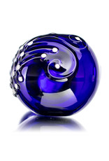 """Dina K 3"""" Glass Dry Pipe COBALT Whale Song by Dina K"""