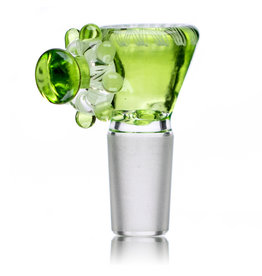 Fidget Glass 14mm Glass Bong Bowl Slide Fidget Spinner (B) CRIPPY by Fidget Glass