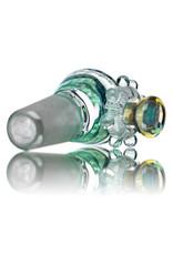 Fidget Glass 14mm Glass Bong Bowl Slide Fidget Spinner (i) ZEN by Fidget Glass