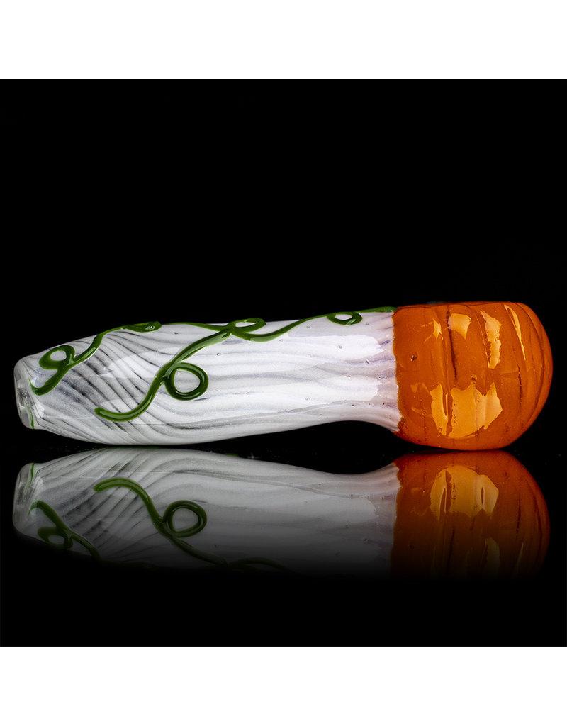 "DOCTOBER 2020 4"" Jack O' Lantern Pipe KC GLASS"