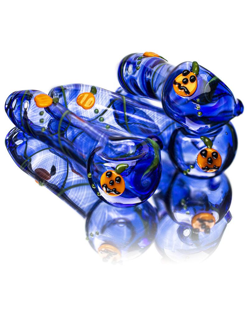 "DOCTOBER 2020 4"" Pumpkins Pipe KC GLASS"