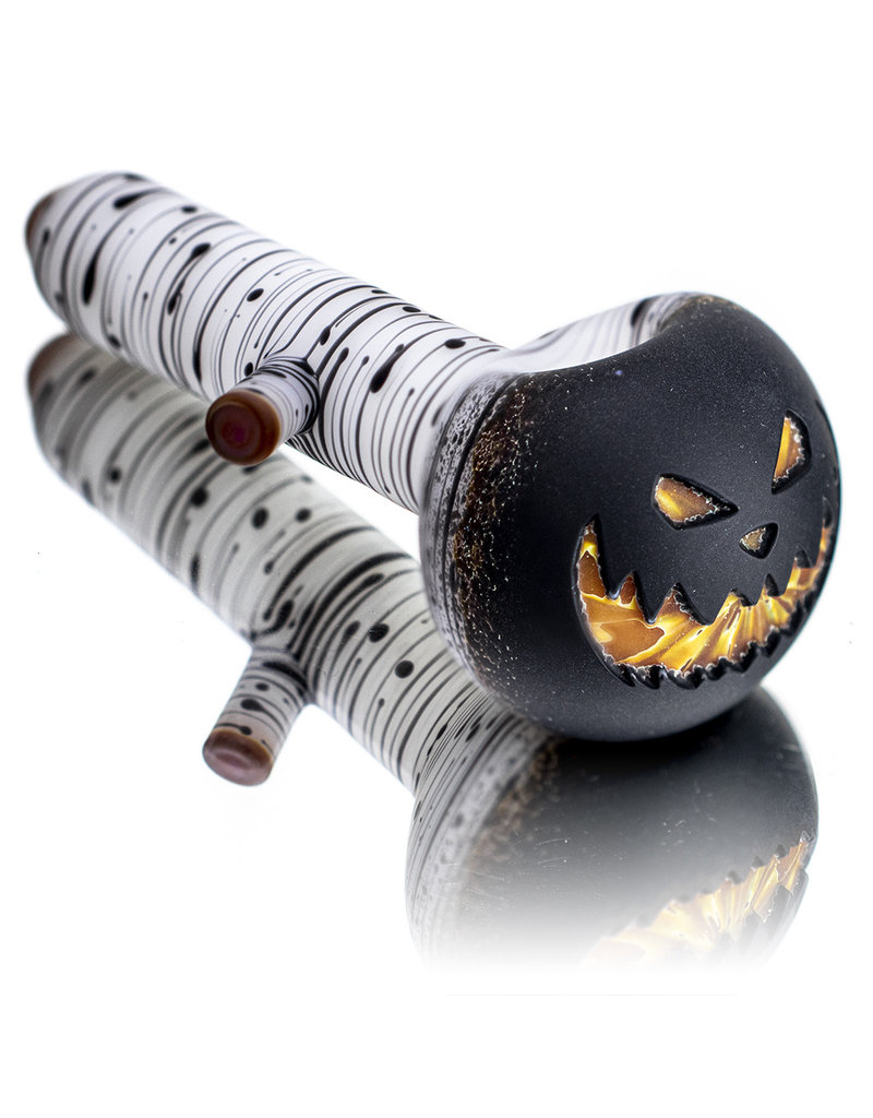 """Witch DR DOCTOBER 2020 Frosted 5"""" Classic Birch Dark Lantern Dry Pipe C by Witch DR"""