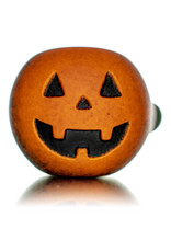 """Witch DR DOCTOBER 2020 5"""" Frosted Orange Frit Pumpkin Dry Pipe B by Witch DR"""