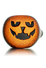 """Witch DR DOCTOBER 2020 5"""" Frosted Orange Frit Pumpkin Dry Pipe E by Witch DR"""