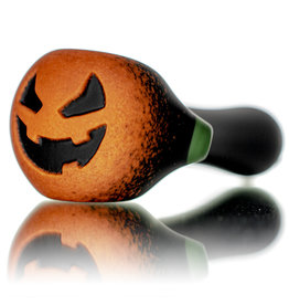 """Witch DR DOCTOBER 2020 5"""" Frosted Orange Frit Pumpkin Dry Pipe G by Witch DR"""