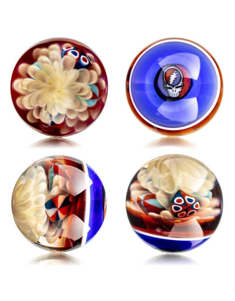 Hollinger Slurper Carb Cap Marble (B) by Hollinger