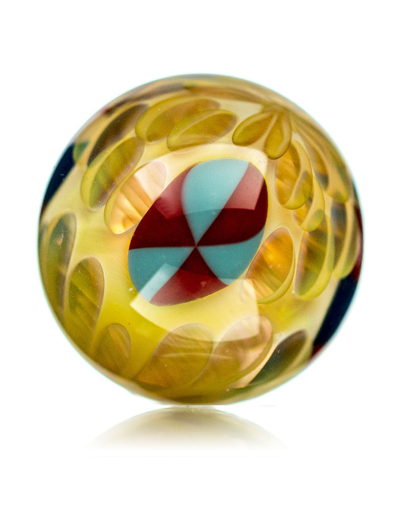 Hollinger Slurper Carb Cap Marble (A) by Hollinger