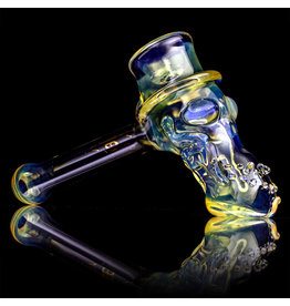 "Bob Snodgrass SOLD 5"" Glass Pipe DRY Bob Snodgrass Top Hat #2 SFG.2020"